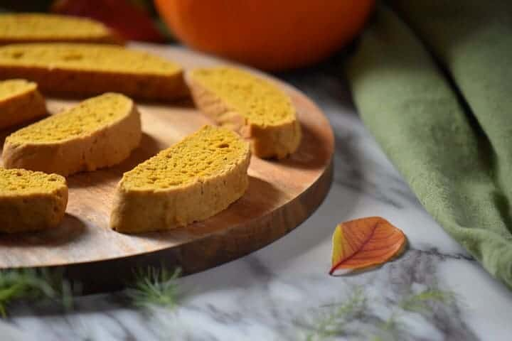 Pumpkin Biscotti [Great with Coffee]