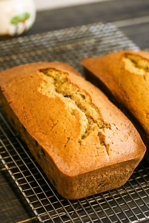 Easy Pumpkin Bread Recipe with Less Sugar and Fresh Pumpkin