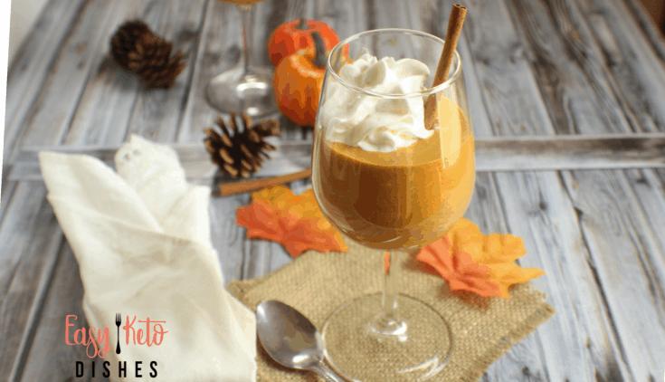 Keto Pumpkin Cream Mousse