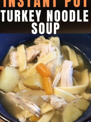 A bowl of food, with Noodle and Soup