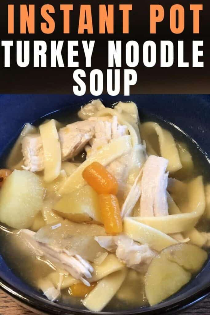 A bowl of food, with Soup and Noodle