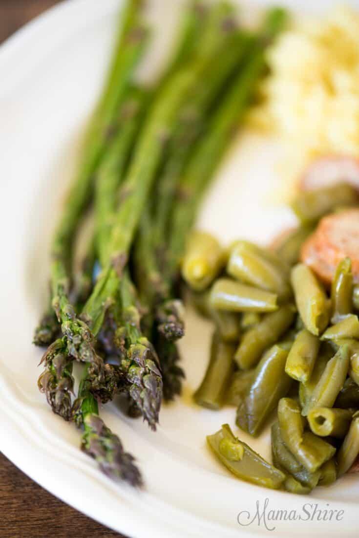 Air-Fried Asparagus