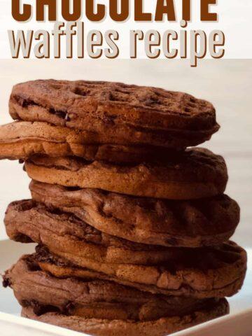 Chocolate and Waffle