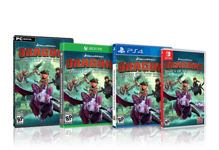 DREAMWORKS DRAGONS DAWN OF NEW RIDERS (PS4, XB1, PC, Switch)