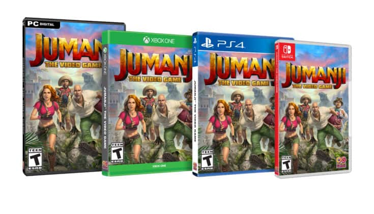 JUMANJI: THE VIDEO GAME (PS4, XB1, PC, Switch)