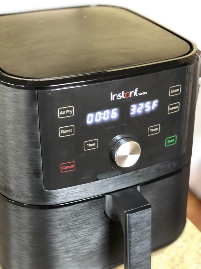 A close up of an instant pot