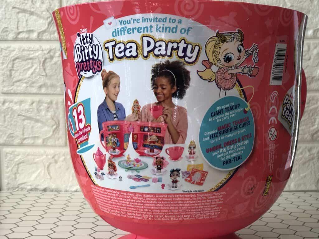 Close up of kids teacup